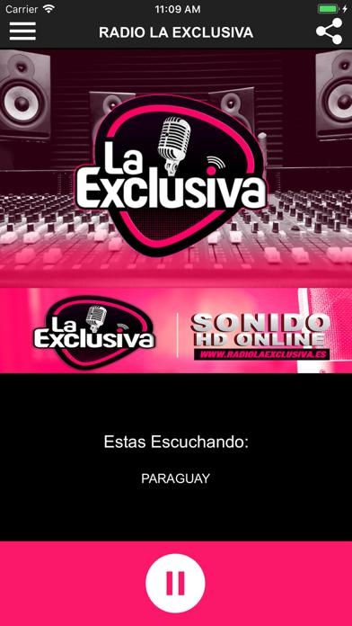 Radio La Exclusiva screenshot one