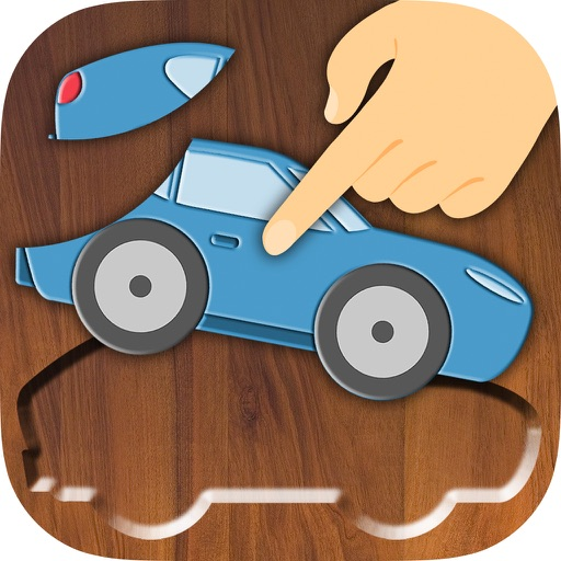 Cars - Wooden Puzzle Game