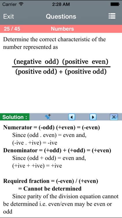 Number Operation for PRAXIS® screenshot-3
