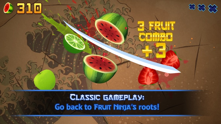 Fruit Ninja Classic screenshot-0