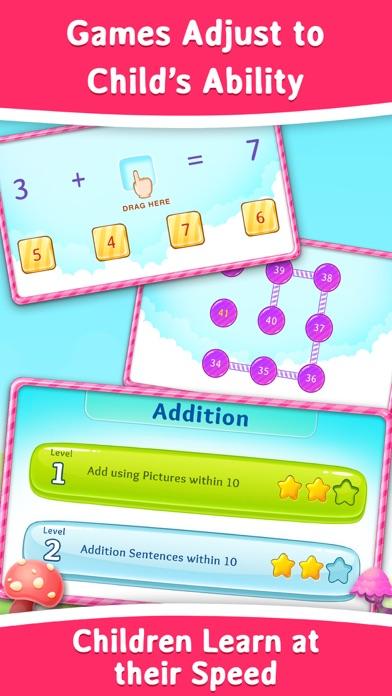 1st Grade Math Learning Games app image