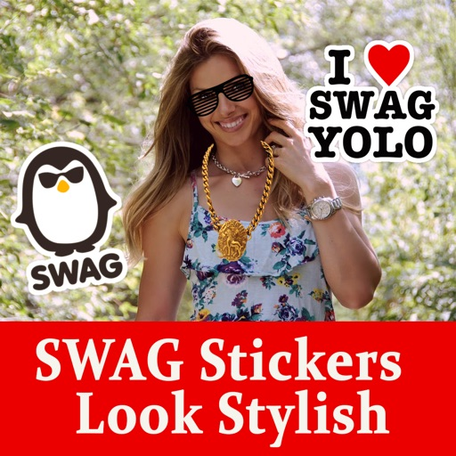 SWAG Stickers  For photo To Look Stylish