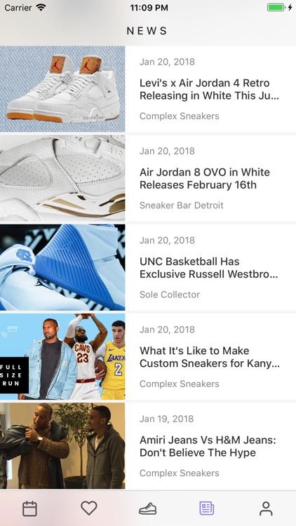 Sneaker Crush - Release Dates screenshot-4