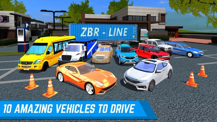 Shopping Zone City Driver screenshot-4