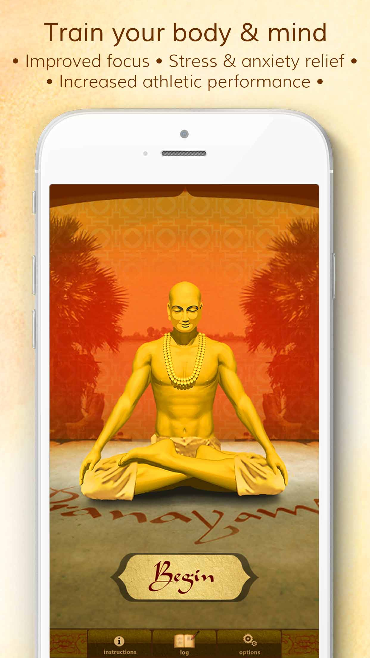 Health through Breath - Pranayama Lite Screenshot