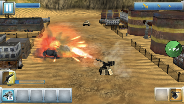 Iron Hero: Collision Screenshot