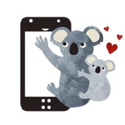 Adorable Koala Koalamoji Stickers