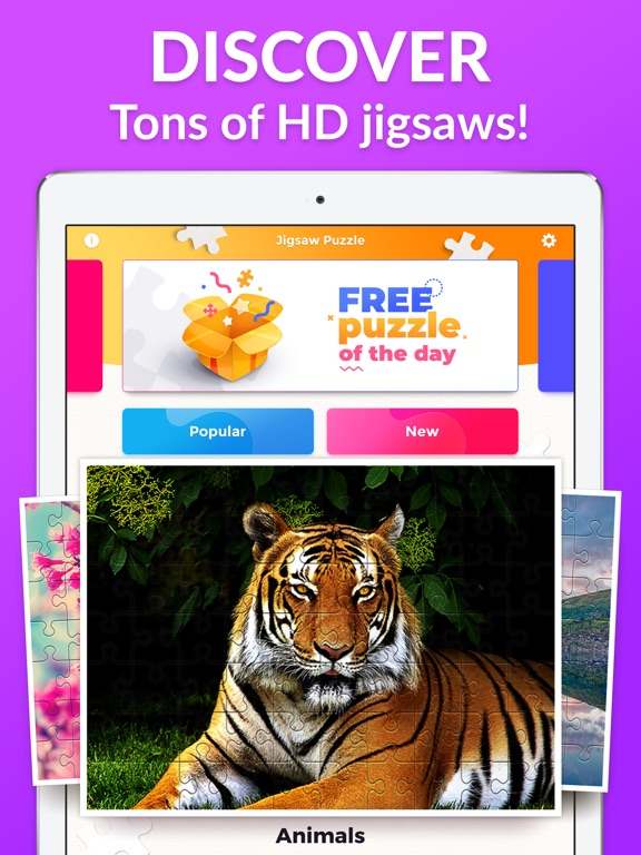 Jigsaw Puzzles for Me screenshot 7