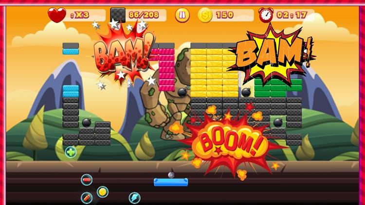 Swipe Brick Breaker Classic screenshot-3