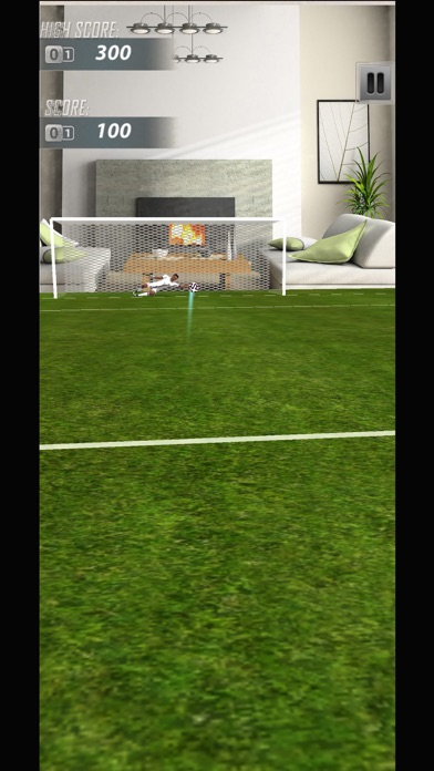 AR Soccer Ultimate Hit screenshot two