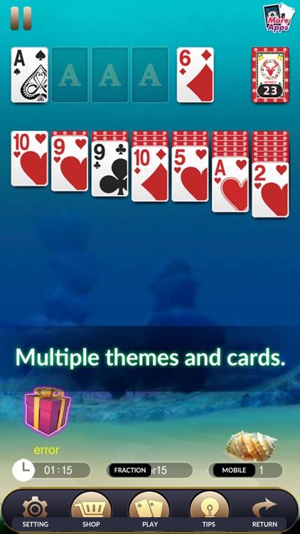 solitaire solo Classic screenshot-3