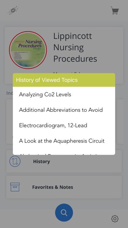 Lippincott Nursing Procedures screenshot-5