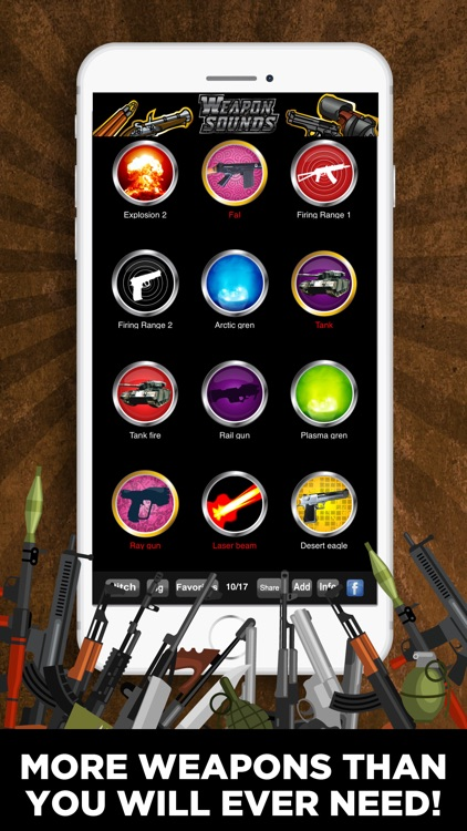 100's of Weapon Sounds Pro screenshot-3