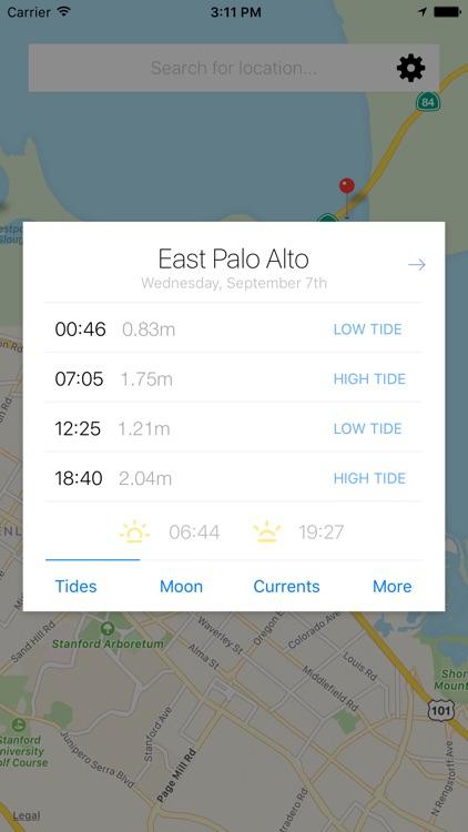 My tide times pro tide chart by jruston apps
