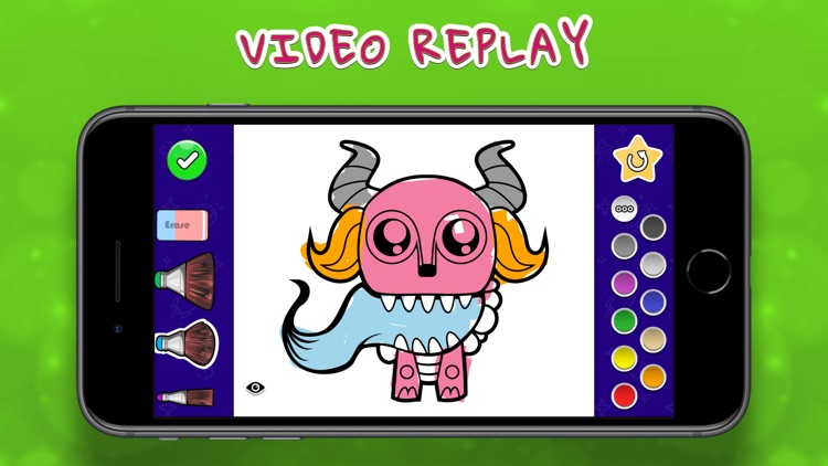 Coloring Your Monsters MAX screenshot-3