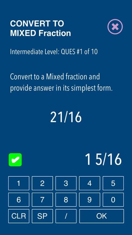 Practice Fraction puzzels screenshot-3