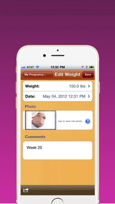 Pregnancy Weight Trackerのおすすめ画像2