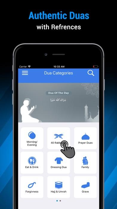 Islamic Duas - Duas & Azkar screenshot one