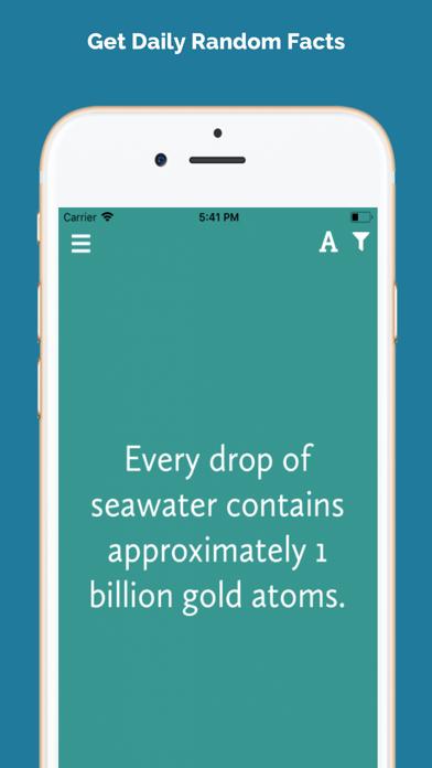 Infact - 毎日のランダムな事実 ScreenShot0