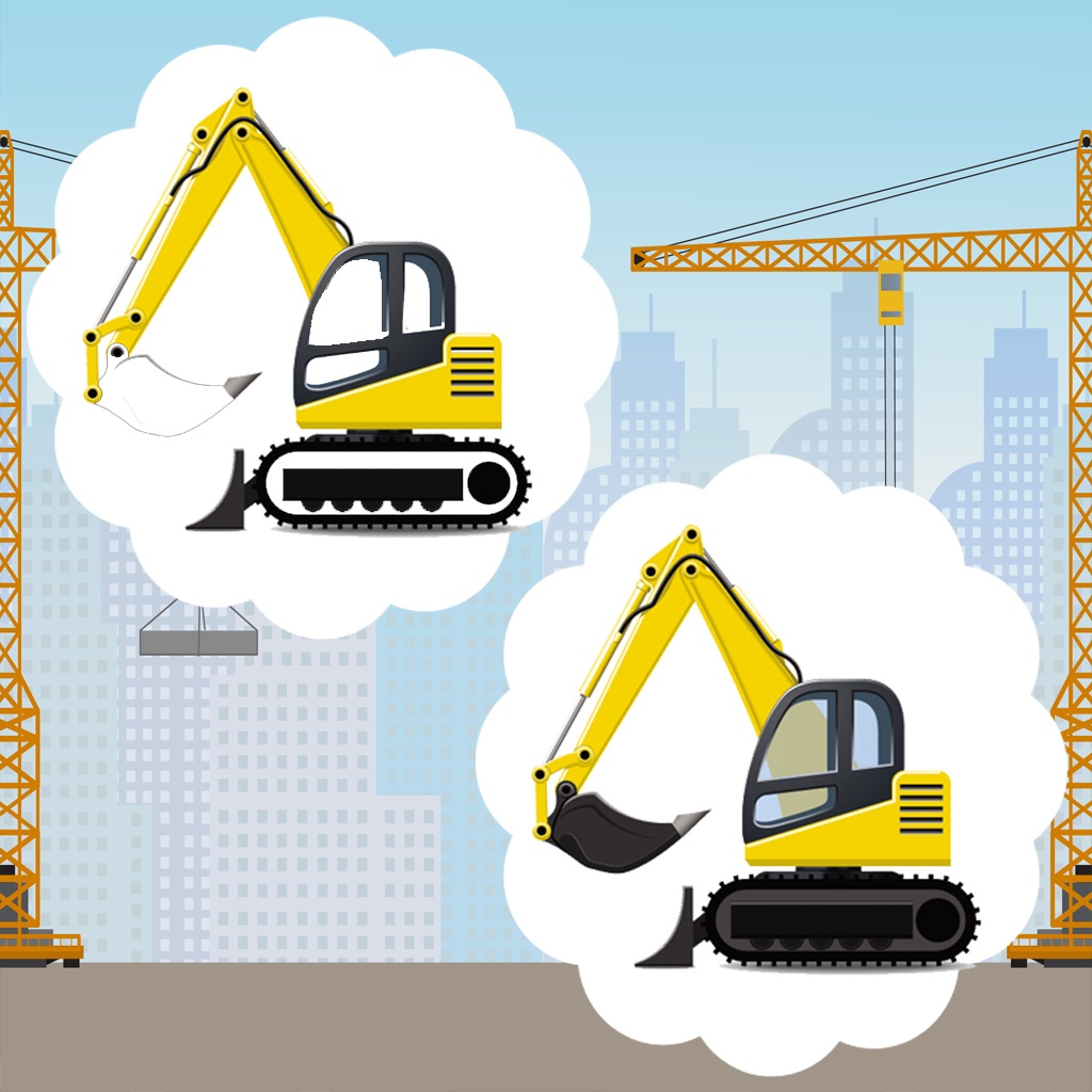 Awesome Construction Car-s and Vehicle-s Kids Game: Spot The Mistake-s hack