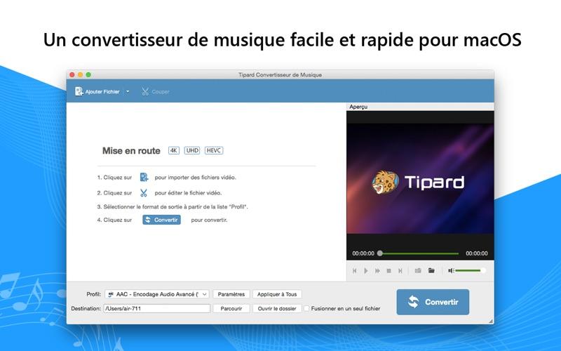 Screenshot Tout le convertisseur de musiq