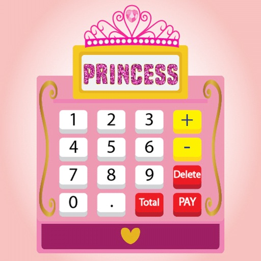Princess Cash Register Pink iOS App