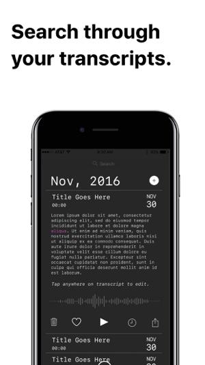 Leo - Recorder & Transcription Screenshot