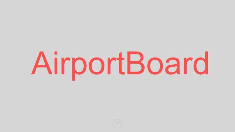 AirportBoard