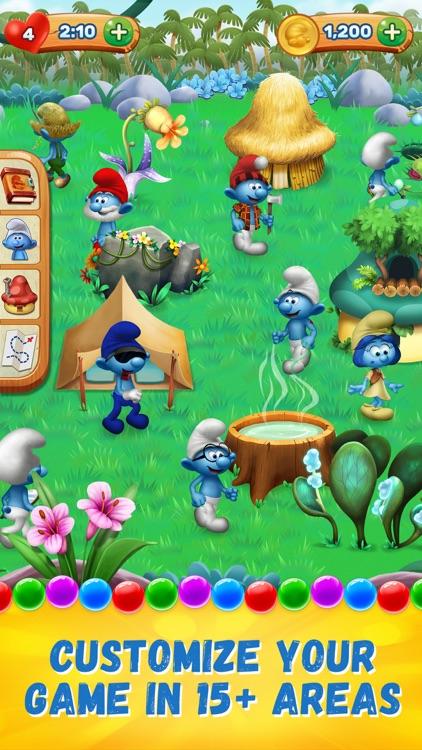 Smurfs Bubble Shooter Story screenshot-3