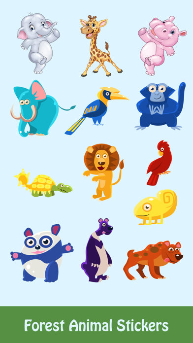 Forest Life Lovely Stickers Pack screenshot one