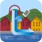 The Bergen Tour App is created by local residents of Bergen and consists of an audiovisual walking tour of the major historical sites in the historic harbor area of Bergen