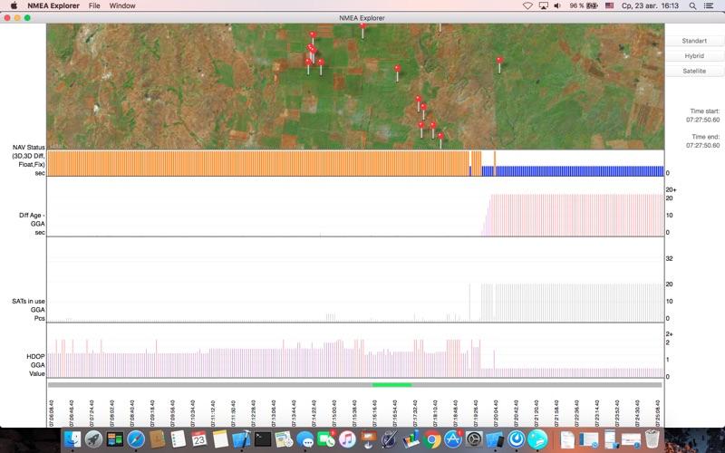 NMEA Explorer скриншот программы 5