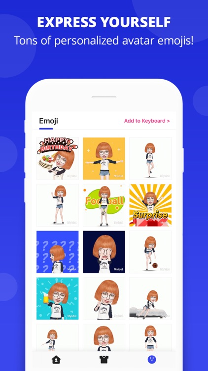 Myidol Emoji screenshot-2