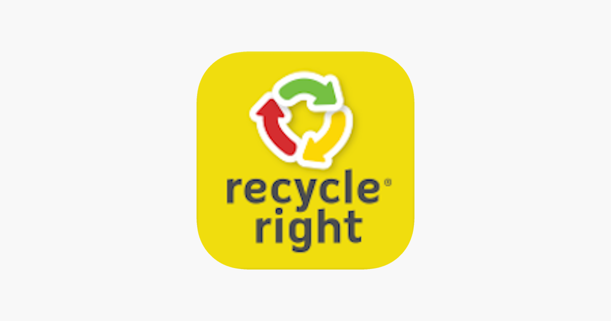 Recycle Right On The App Store
