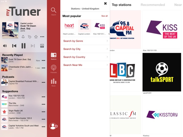 myTuner Radio - Live FM Player on the App Store