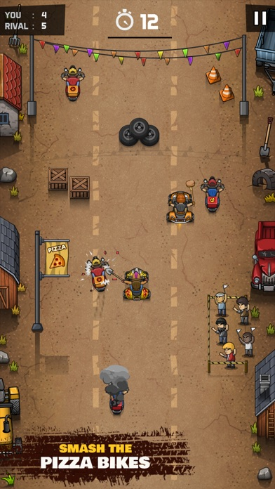 Rude Racers! Screenshot 4