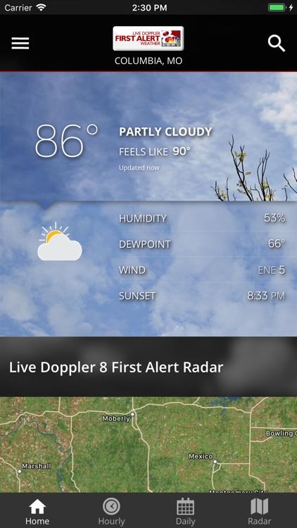 KOMU 8 Weather App