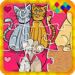 Cats And Dog Puzzle Game