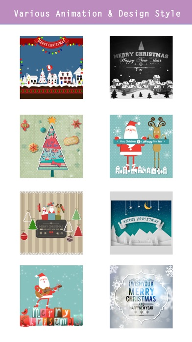 Animated Christmas Stickers - screenshot 3