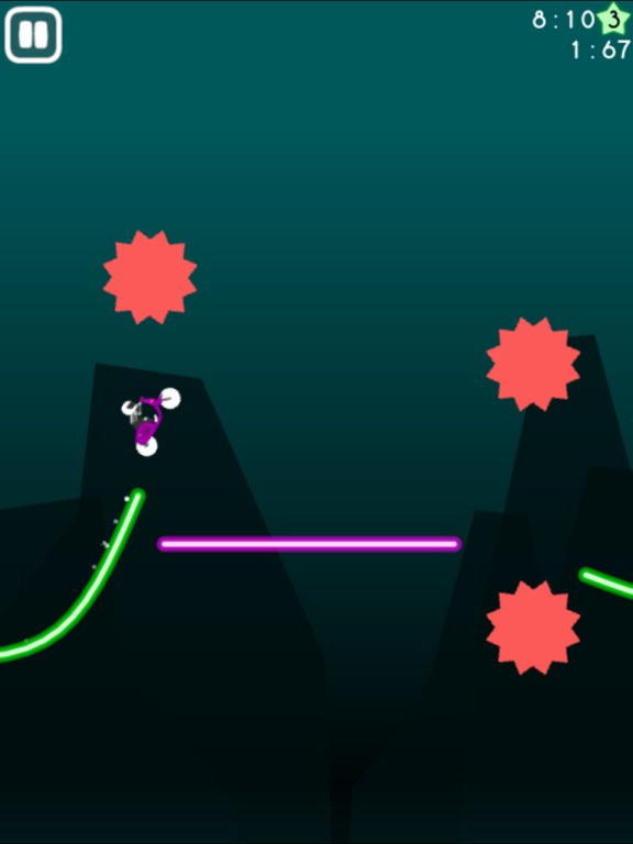 Neon Biker screenshot 7