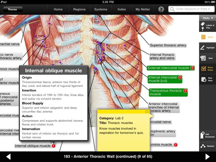 Netter's Anatomy Atlas screenshot-3