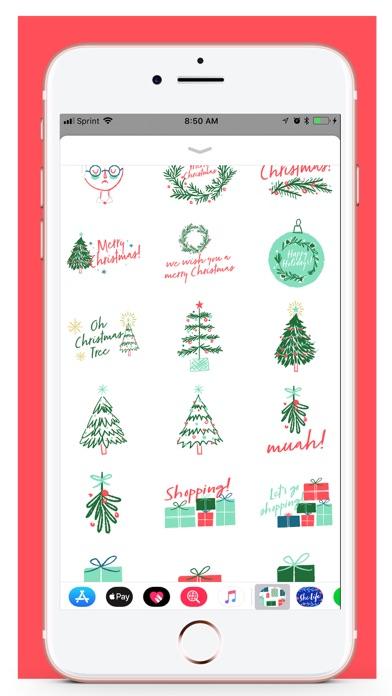 Her Holiday Stickers screenshot three