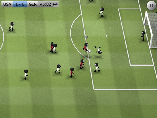 Stickman Soccer Скриншоты9