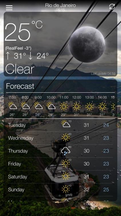 Weather App 10 Days Forecast screenshot-3