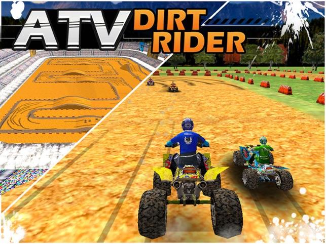 ATV Dirt Bike Rider Screenshot