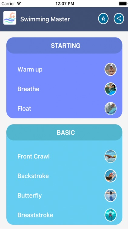 Swimming Master screenshot-0