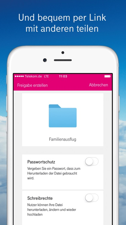 MagentaCLOUD screenshot-3