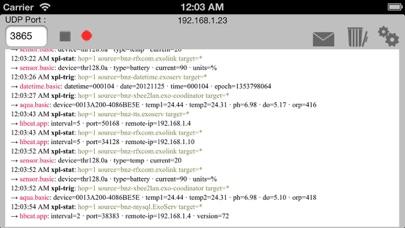 xPL Sniffer screenshot one