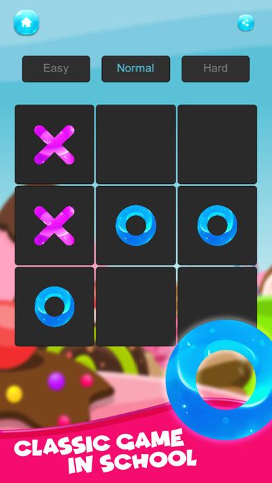 XO Tic tac toe ! Jelly Edition screenshot two