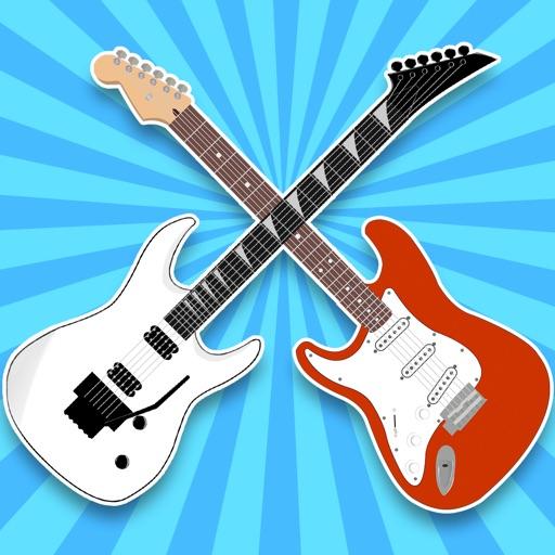 Guitars Galore Stickers